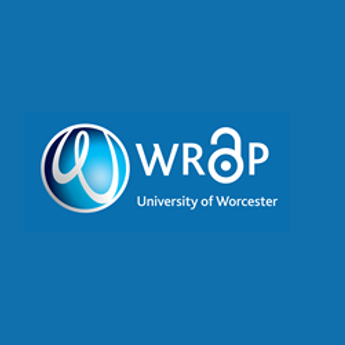 WRaP logo: University of Worcester