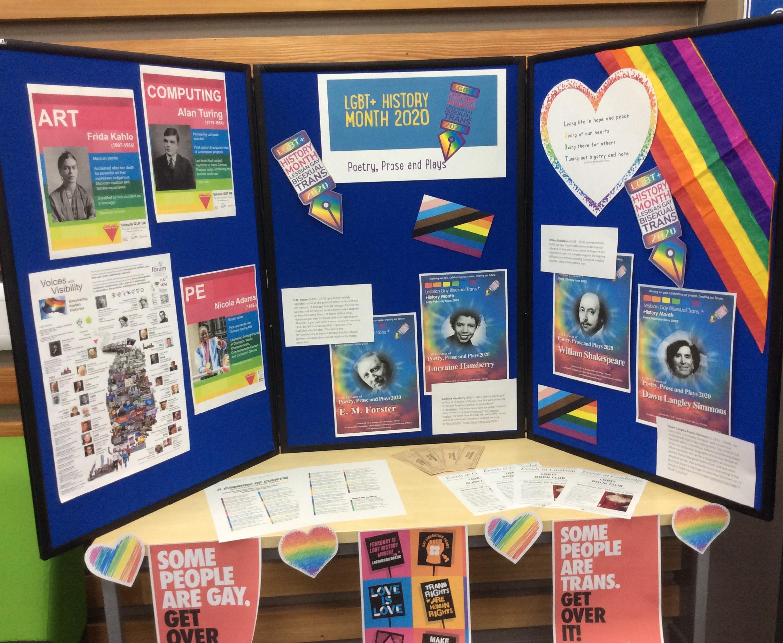 Cambridge LGBT+ Display
