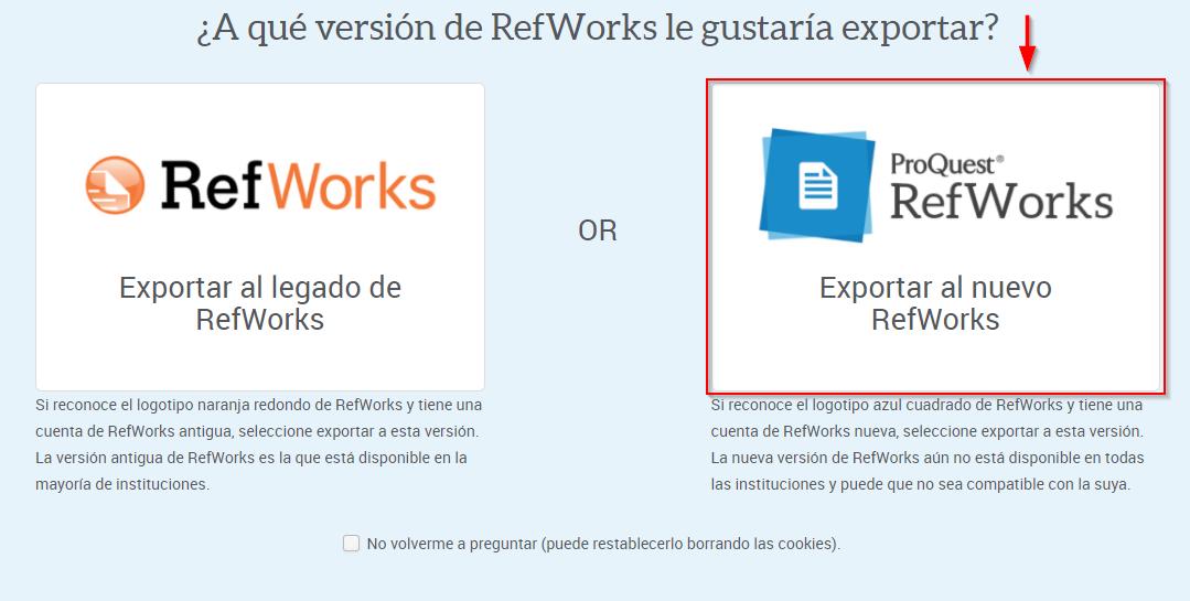 Nuevo RefWorks
