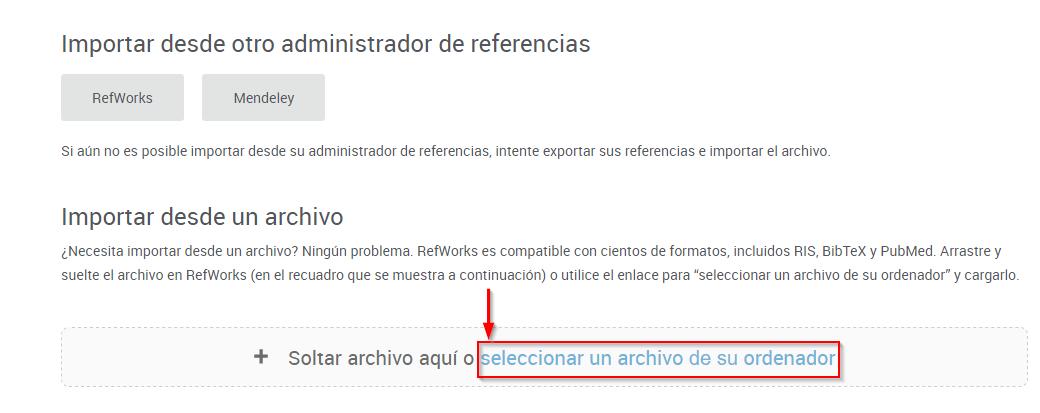 Seleccionar archivo