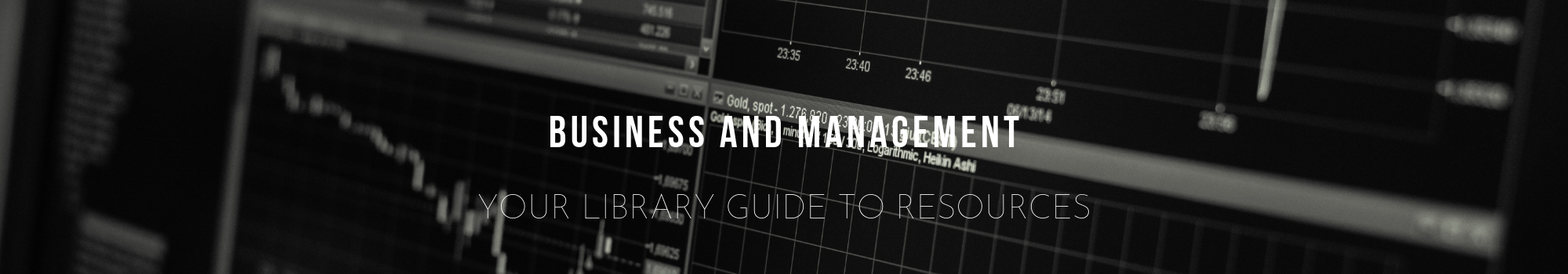 Business and Management - Your library guide to resources