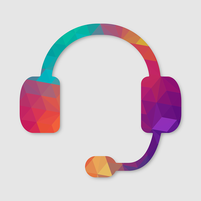 Colourful headphones