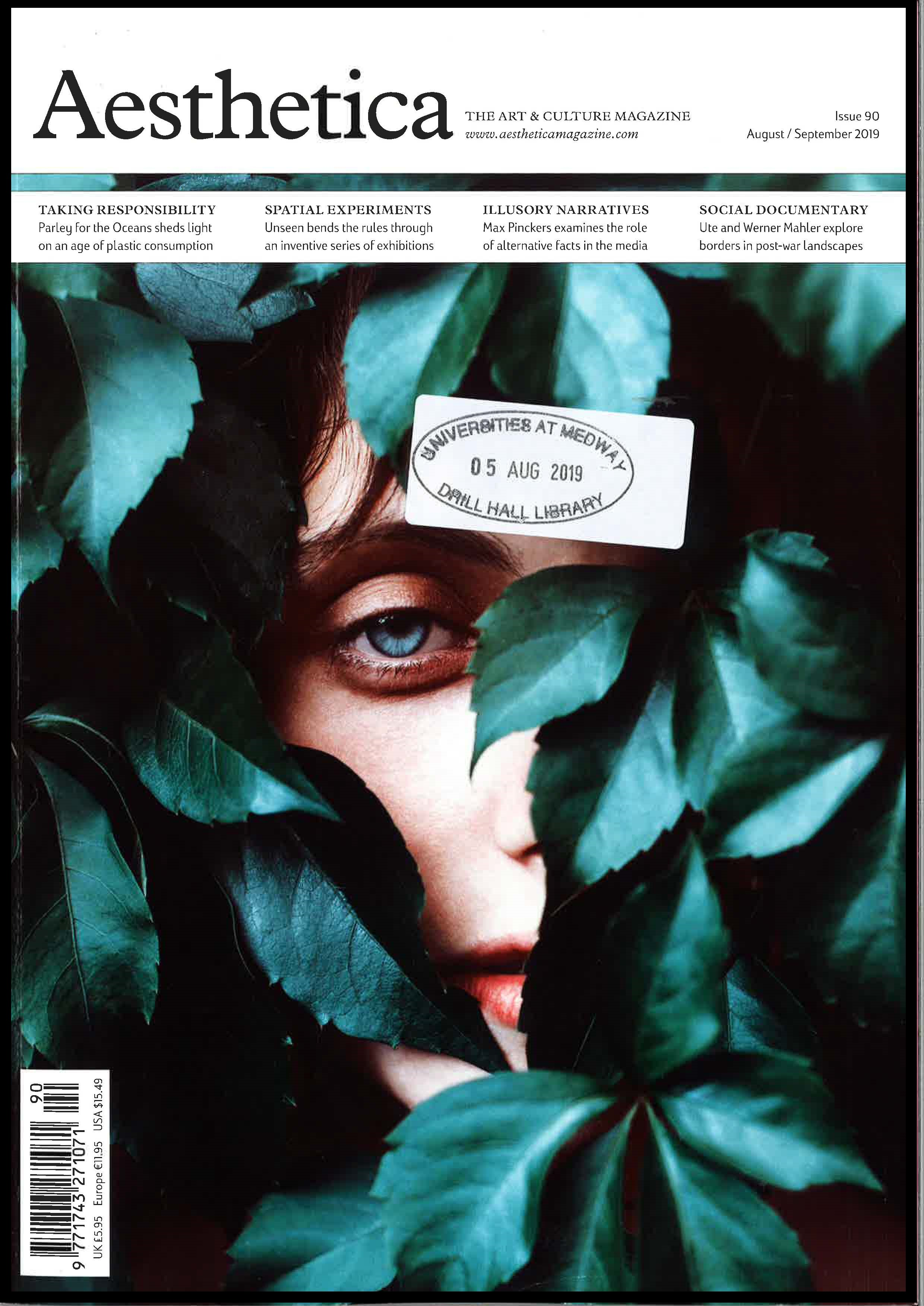 Cover of Aesthetica