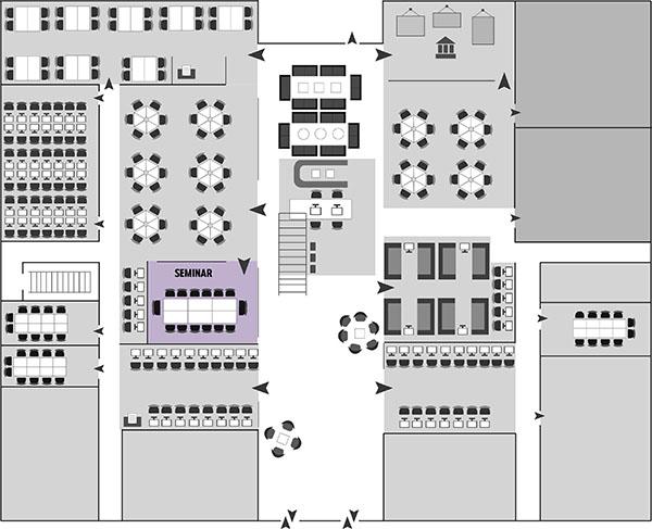 Seminar room map