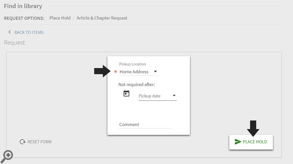 Book Request Step 3
