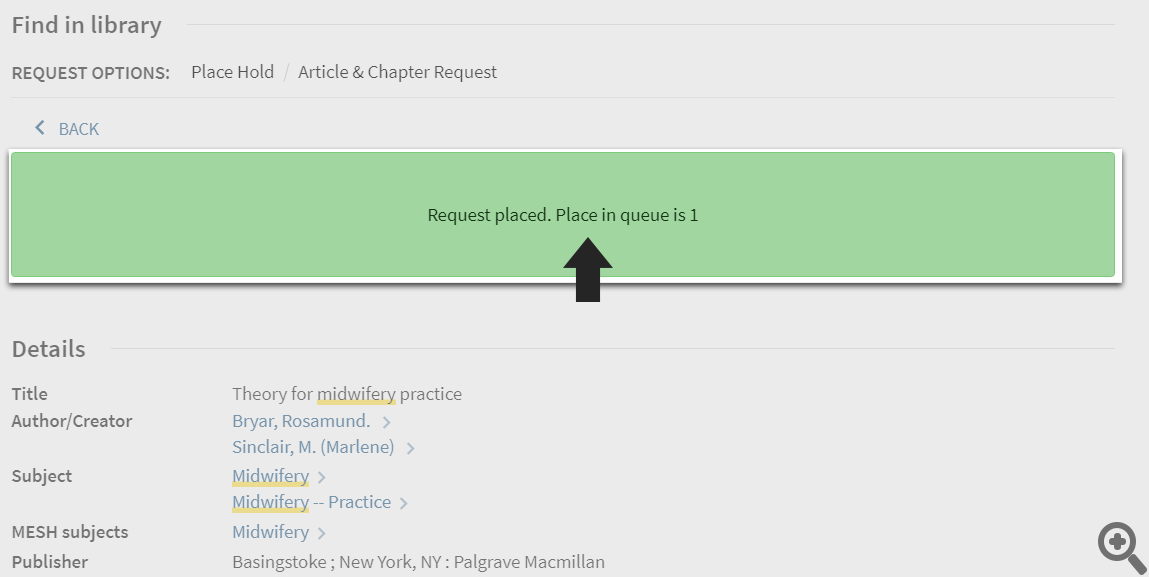 Article Chapter Request Step 5
