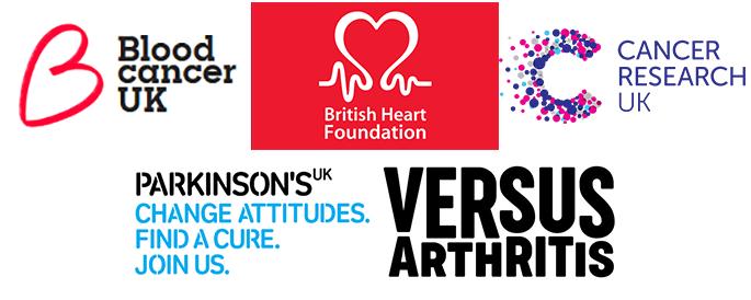 UK charity logos
