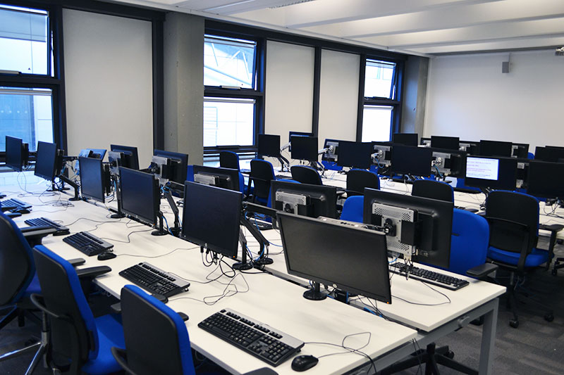 Learning centre IT lab