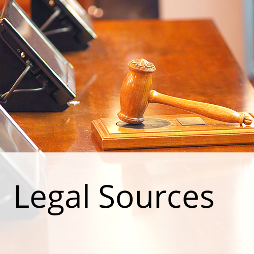 Legal Sources