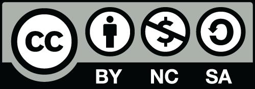 CC BY-NC-SA logo