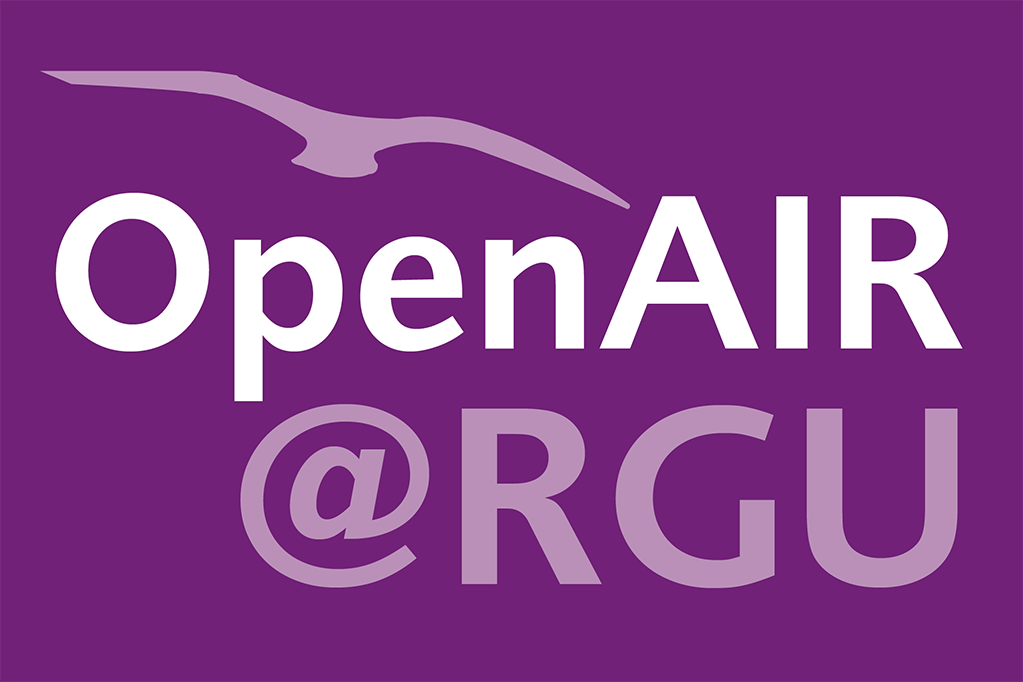 OpenAIR@RGU logo