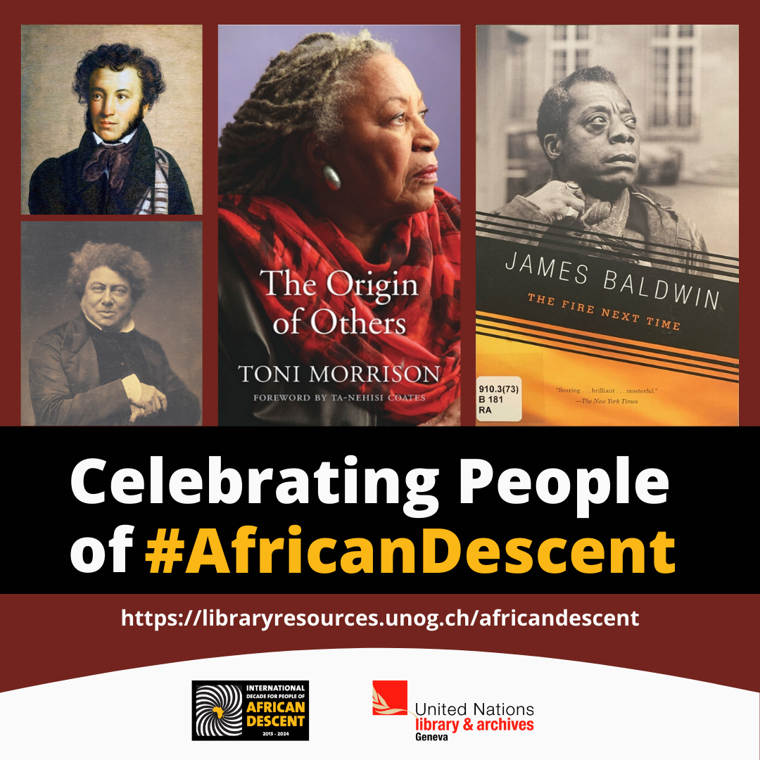 People of African Descent in Literature