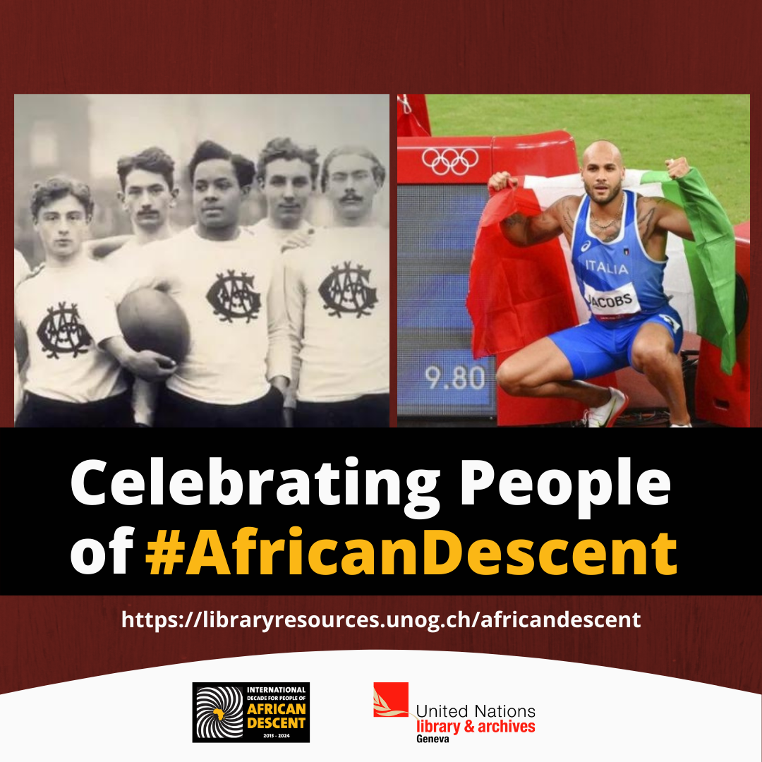 People of African Descent in Sports