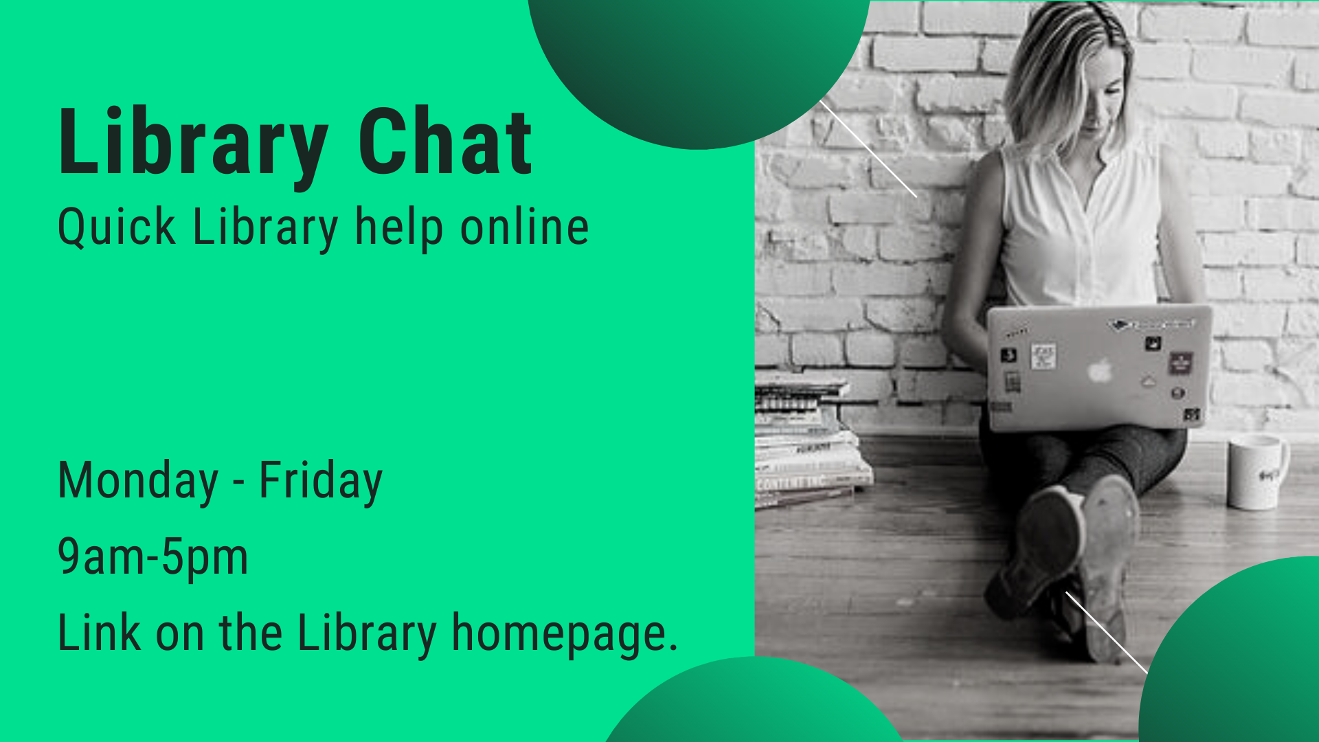 Click here to open Library Chat