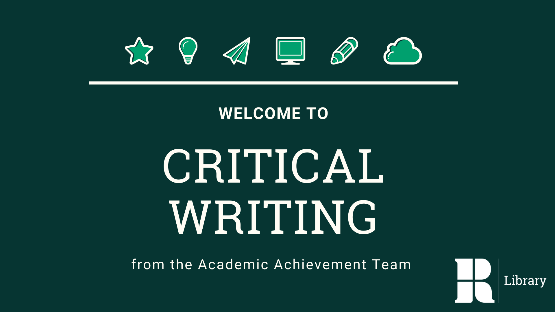 Critical Writing