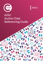 APA7 Author-Date referencing guide for MKU
