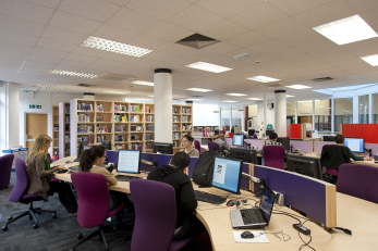 Management Information & Resource Centre interior
