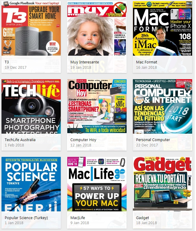 PressReader Computers & Technology magazines