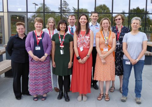 A group photo of the Academic Liaison Librarians team