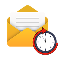 Await email icon