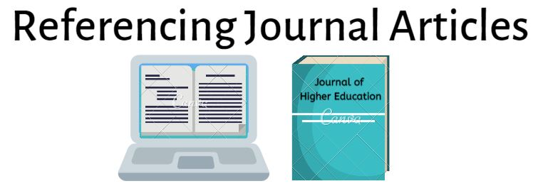 Referencing Journal Articles