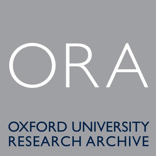 Oxford University Research Archive Logo