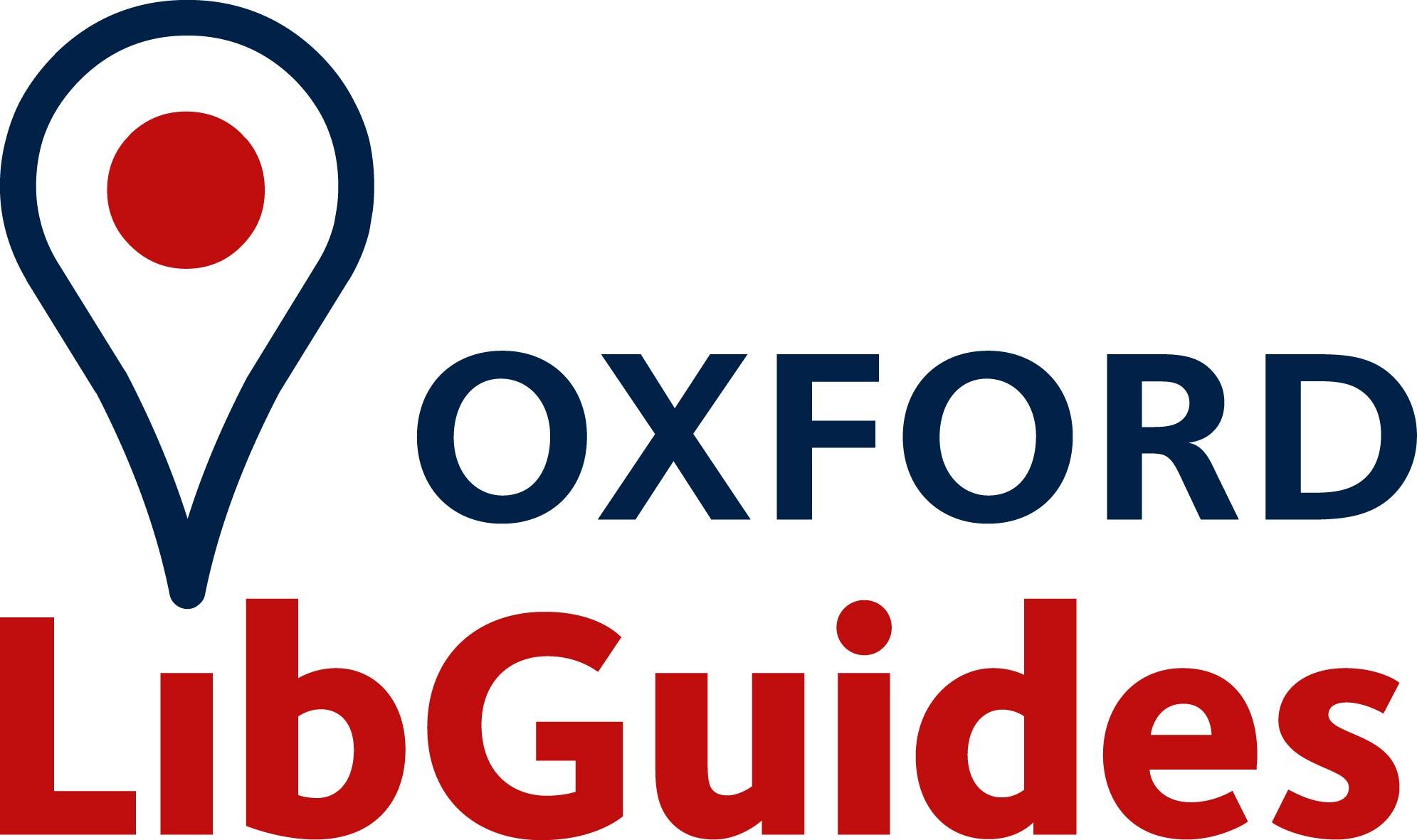 Oxford LibGuides logo
