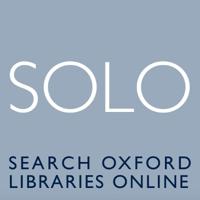 SOLO: Search Oxford Libraries Online
