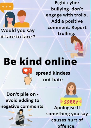be kind online poster
