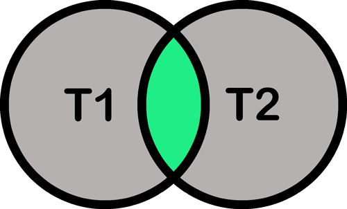 T1 AND T2