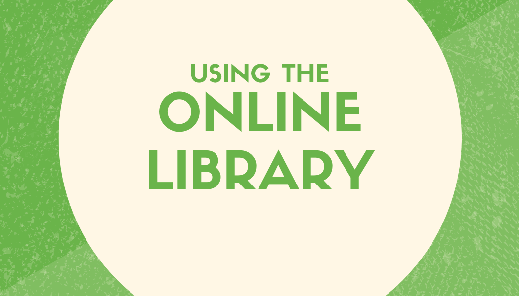 Using the Online Library