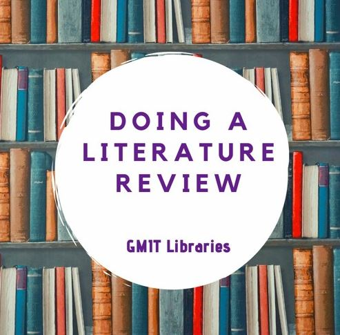 Literature Review Podcast image