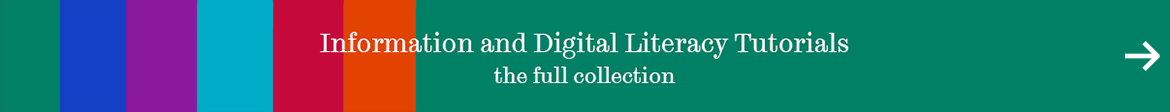 information and digital literacy tutorials