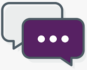 Library chat logo
