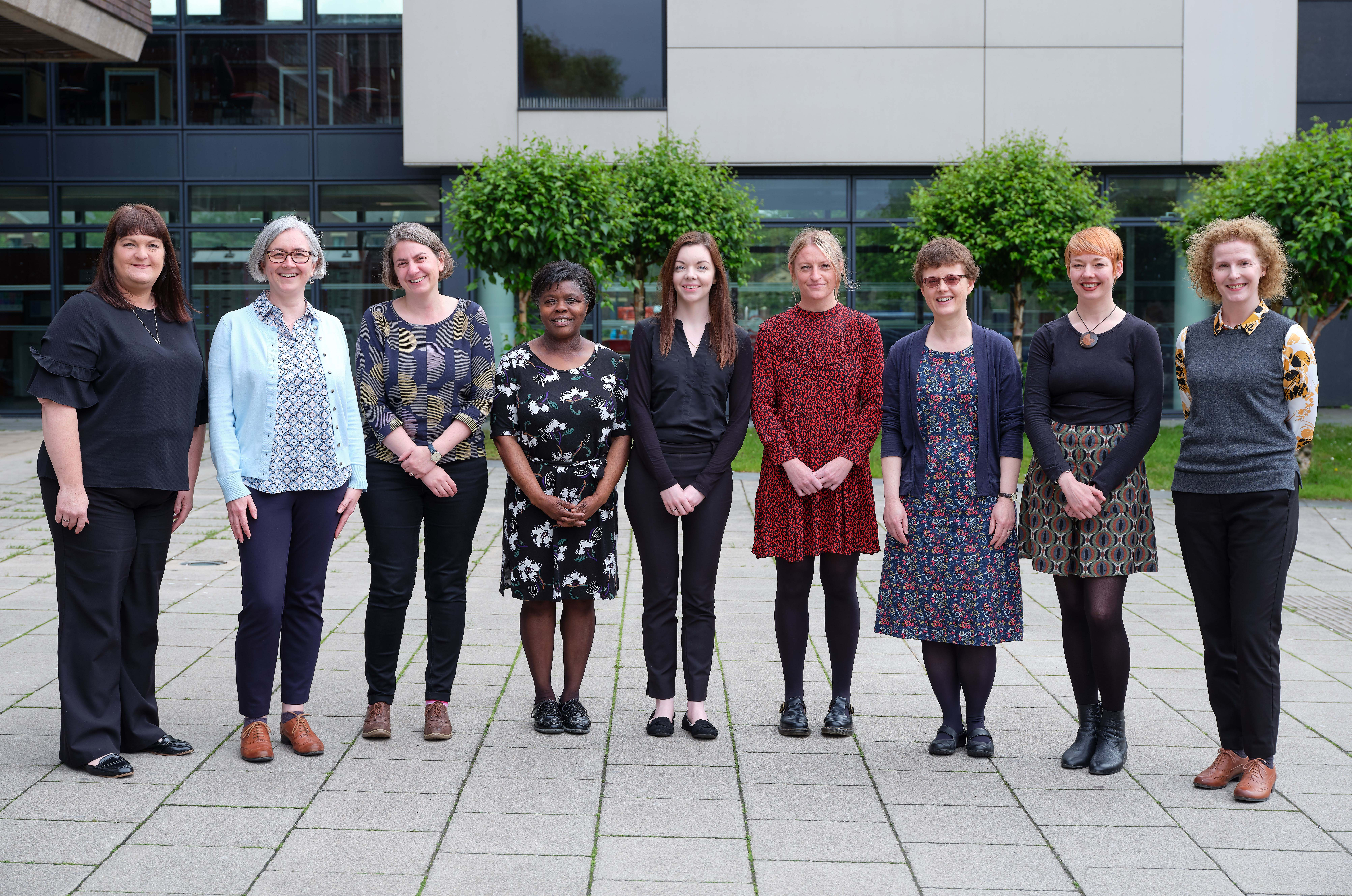 Photograph of the Liaison Librarian Team