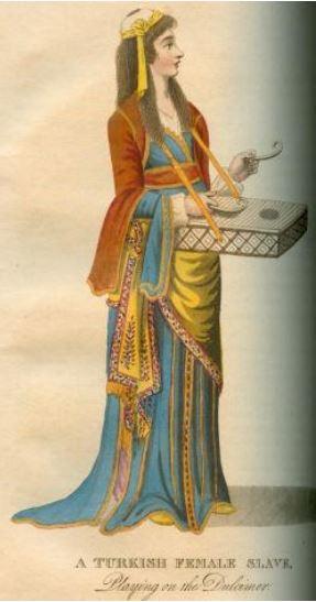 Illustration of Turkish slave woman