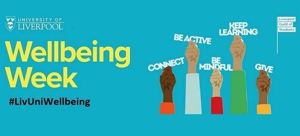 University of Liverpool Wellbeing Week logo