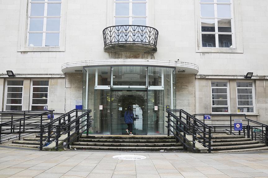 Harold Cohen Library exterior