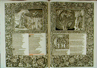 Pages from the works of Geoffrey Chaucer