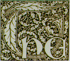 "Detail of the word ""The"""