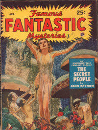 Famous Fantastic Mysteries cover