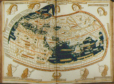 Image of page from Claudius Ptolemaeus. Cosmographia.