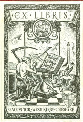 Image of R G Morton bookplate