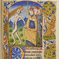 Detail ofMS.F.2.14: Book of Hours (use of Châlons)