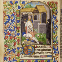 Detail of MS.F.2.18: Book of Hours (use of Paris)