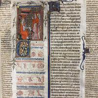 Detail of MS.F.4.20: Gregory IX, Decretals