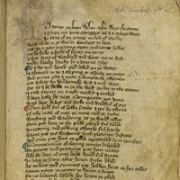 Detail of MS.F.4.8: William Langland, Piers Plowma