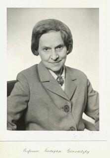 Professor Nadejda Gorodetsky