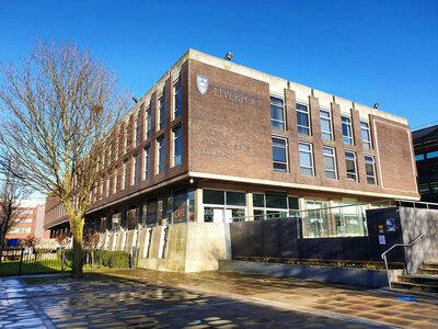 Photograph of the Sydney Jones Library