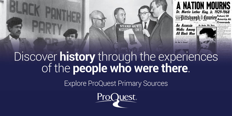 Image text: Discover history through the experiences of the people who were there